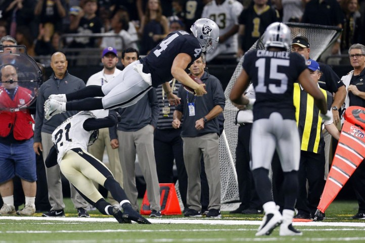 Oakland Raiders v New Orleans Saints
